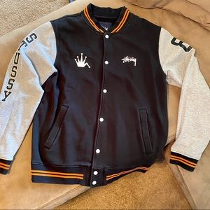 Men's Stussy Button-Up Jacket - Sz. XL